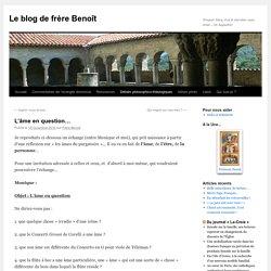 Le blog de frère Benoît