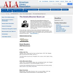 The Amelia Bloomer Book List