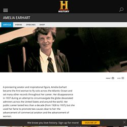 Amelia Earhart - Facts & Summary