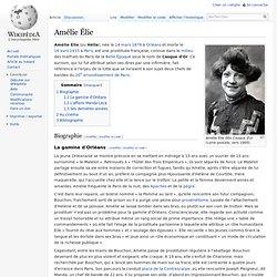 Amélie Élie