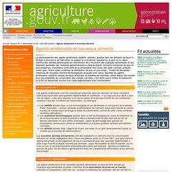 MAAPRAT 04/08/11 Agents améliorants et nouveaux aliments