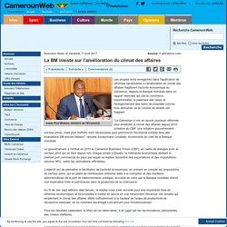 La BM insiste sur l'amélioration du climat des affaires