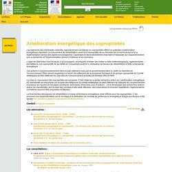 Actions du PUCA - Amélioration énergétique des copropriétés
