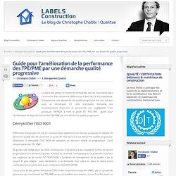 Guide pour l'amélioration de la performance des TPE/PME par une démarche qualité progressive