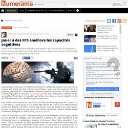 Jouer à des FPS améliore les capacités cognitives