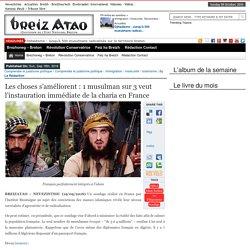 Les choses s'améliorent : 1 musulman sur 3 veut l'instauration immédiate de la charia en France