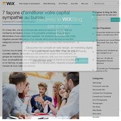 7 façons d'améliorer votre capital sympathie au bureau - Wix
