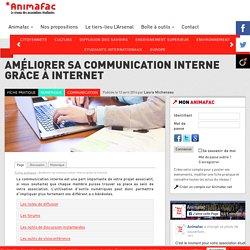 Améliorer sa communication interne grâce à internet - Animafac