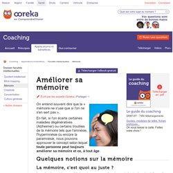 Ameliorer sa mémoire : conseils - Ooreka