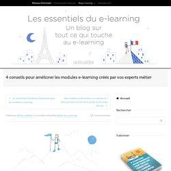 Améliorer les modules e-learning créés par vos experts métier