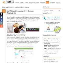 Améliorer le moteur de recherche Prestashop - Webbax