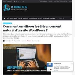 Comment améliorer le référencement naturel d'un site WordPress ? - SEO
