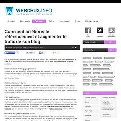 Comment améliorer le référencement et augmenter le trafic de son blog » Révolution Web 2.0 en Live !