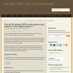 Plus de 20 plugins SEO Joomla gratuits pour améliorer votre référencement !