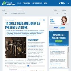 14 outils pour améliorer sa présence en ligne - Veilletourisme.ca