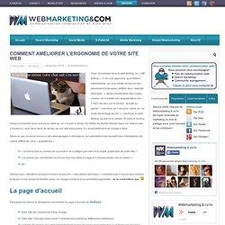 Comment améliorer l'ergonomie de votre site web