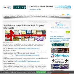 Améliorons notre français avec 38 jeux interactifs
