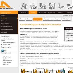 Aménagement de bureaux et espaces de travail