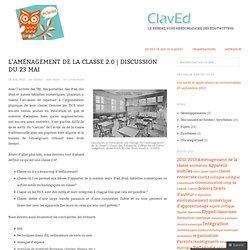 L'aménagement de la classe 2.0