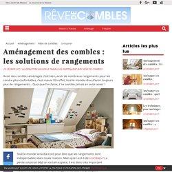 aménagement combles - rangements - Maison & Travaux