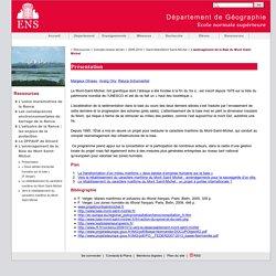 L'aménagement de la Baie du Mont Saint-Michel