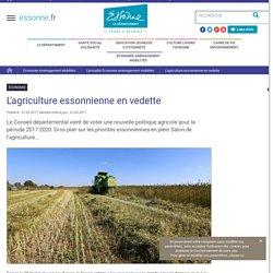 [Département de l'Essonne] - Politique agricole 2017-2020
