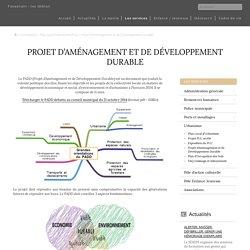 Projet d'Aménagement et de Développement Durable – Mairie de Fouesnant – les Glénan