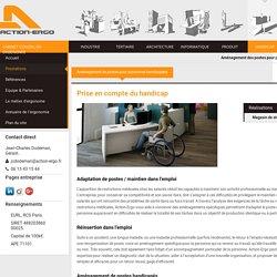Ergonomie, handicap et aménagement de postes pour personnes handicapées