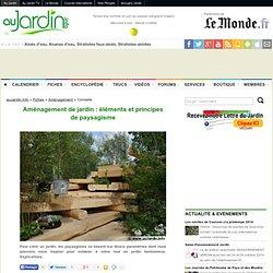 Aménagement de jardin : éléments et principes de paysagisme