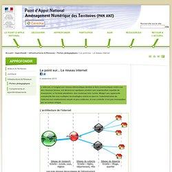 Atelier Aménagement Numérique des Territoires - Le point sur... Le réseau internet