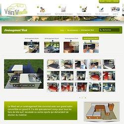 Aménagement West Van Mania pour vw t4, t5, traffic, vito