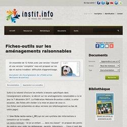 Fiches-outils sur les aménagements raisonnables - Document gratuit
