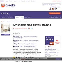 Aménager une petite cuisine - Cuisine
