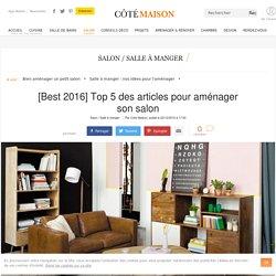 Aménager un salon : top des articles Côté Maison en 2016 - 23/12/16