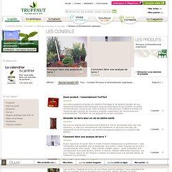 Amendement organique : conseils, entretien plantes