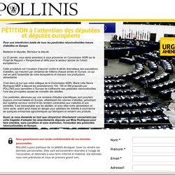 URGENCE AMENDEMENT #StopNeonics : signez la pétition aux députés européens