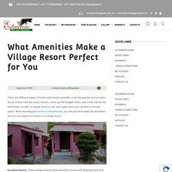 What Amenities Make a Village Resort Perfect for You - Estuarine Village Resort