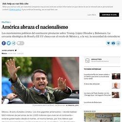 América abraza el nacionalismo