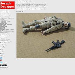 America's Army Action Figure : Joseph DeLappe