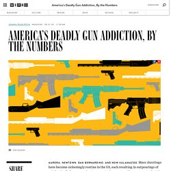 America's Deadly Gun Addiction, By the Numbers