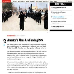 America's Allies Are Funding ISIS
