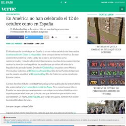 En América no han celebrado el 12 de octubre como en España