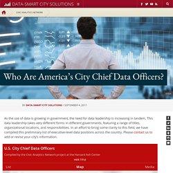 Data Leadership at the Executive Level
