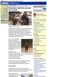 Colombia: ejército ya está en la zona