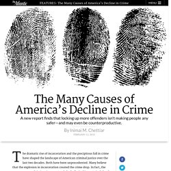 The Many Causes of America's Decline in Crime