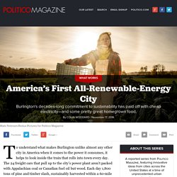 America's First All-Renewable-Energy City