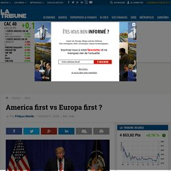 America first vs Europa first ?