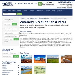 National Parks of the West - Six National Parks in 14 days
