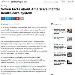 Seven facts about America's mental health-care system