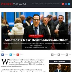 America's New Dealmakers-in-Chief